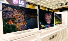 LG's non-curved 4K OLED TVs are finally here