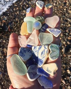 Today's handful of scottish seaglass and pottery Beach Rocks, Beach Stones, Sea Glass, Glass Art, Glass Beach, Summer Photography, Beach Crafts, Summer Aesthetic, Disney Wallpaper