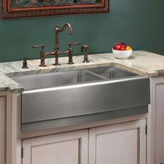 #cultivateit Farmhouse Kitchen Sinks - Bing Images bronz with 5 holes not sure if would & 29 Best farmhouse kitchen sinks images in 2019 | Kitchen decor ...