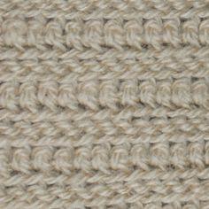 Men's Crochet Scarf Pattern (slip and single crochet stitches)