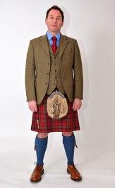 Bespoke Tweed Jacket Outfit