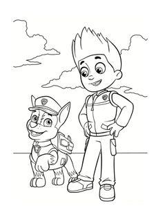 des coloriages pat patrouille imprimer gratuitement pour vos enfants pour imprimer un coloriage pat