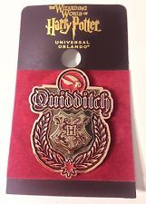 Wizarding World Of Harry Potter Hogwarts QUIDDITCH Team  METAL TRADING PIN New!