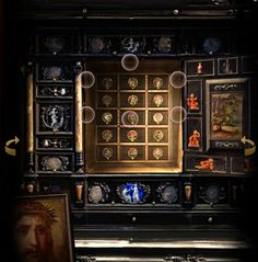 inside the Augsburg cabinet