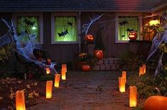 IDEAS & INSPIRATIONS: Halloween Decorations, Halloween Decor: Halloween Outdoor Decor