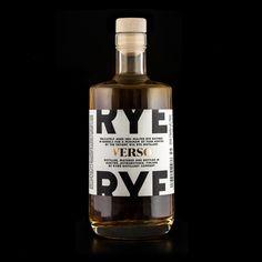 Kyrö Distillery Company by Werklig. #branding #packaging
