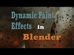 Animating Raindrops on Glass in Blender 2.75 - YouTube