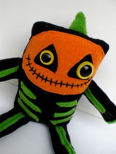 JOL Bonez monster plush toy doll