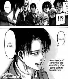 tumblr_no6oo2rFi01rin84po2_500.png 500×581 pixels Attack on titan Levi Shingeki No Kyojin Smile Perfect