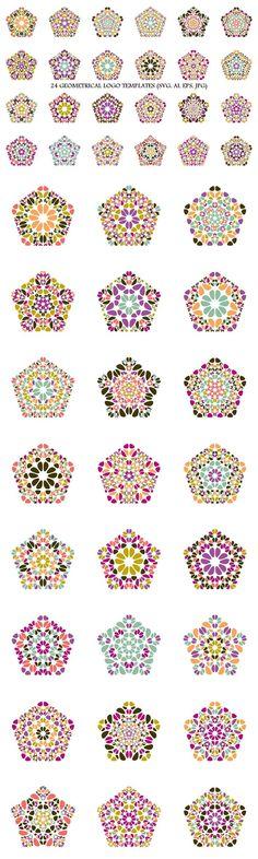 24 Floral Pentagon Logo Templates #welness #AbstractLogoTemplates #LogoTemplates #pentagon #polygon #AbstractLogos #geometrical #digital #LogoCollections #GeometricalLogo #geometric #polygons #AbstractLogo #LogoDesignTemplates #LogoTemplateDesign #geometric #LogoSets #LogoDesignTemplates Pentagon Logo, Pentagon Shape, Logo Design Template, Logo Templates, Vector Design, Abstract Logo, Geometric Logo, Best Logo Design, Logo Background