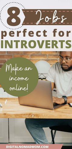 If you are an introvert, this list of well paying online jobs for introverts is a great way to find your perfect place in the workplace. The ability to stay connected in the workforce, while being able to control social interactions is of key importance when you are an introvert - these jobs will help you be able to do just that! Online Side Jobs, Online Careers, Best Online Jobs, Facebook Ad Agency, Facebook Marketing, Affiliate Marketing, Best Side Jobs, Spelling And Grammar, Marketing Consultant