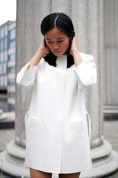 all white...