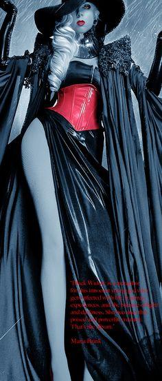 Maria's words on the new Black Widow album