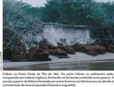 Unidade de conservação da Ilha do Mel. As planícies costeiras paranaenses, incluindo as da Ilha do Mel, são formadas por sedimentos arenosos de origem marinha costeira com idades inferiores a 120.000 anos. Sua formação é devido às grandes variações do nível do mar ocorridas no Período Quaternário, últimos 1,8 milhão de anos, consequência dos períodos glaciais (idades do gelo) e interglaciais (períodos quentes). Serviço Geológico do Paraná - Mineropar