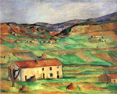 Gardanne - Paul Cezanne...via Laurie Beth Zuckerman