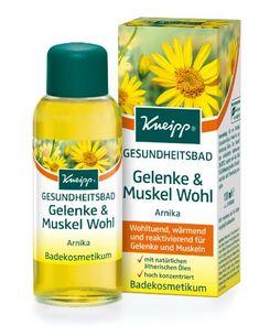 Kneipp Gesundheitsbad Gelenke & Muskel Wohl Arnika, 100 ml Kneipp http://www.amazon.de/dp/B000ZITLM0/ref=cm_sw_r_pi_dp_ZbUivb14T3WZA