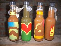 HOT Temper HOt Sauce!  THe best home made hot sauce ever! Check them out on Facebook!
