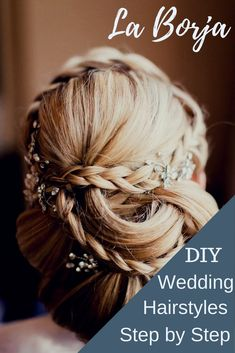 Have you ever wanted a gorgeous wedding hairstyle or up do and not to thrilled about the price tag at the salon? I can help you and a friend do an amazing hairstyle yourselves and save the cheddar for the honeymoon! La Borja #weddinghair #weddings #updos #laborja