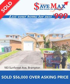 Another one #JustSold $56,000 over-asking price! Need it Sold? We've got you covered. Give us a call at 905.459.7900 Another One, You Got This, Real Estate, Mansions, House Styles, Cover, Real Estates, Luxury Houses, Blanket