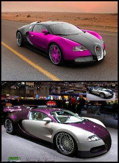 Bugatti,red and white,rose and black.