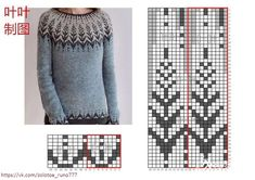 Diy Crafts - 17 trendy knitting patterns free sweater for men for him Crochet Mittens Pattern, Fair Isle Knitting Patterns, Knitting Charts, Knitting Designs, Knitting Stitches, Knitting Yarn, Knit Patterns, Free Knitting, Baby Knitting
