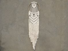 "Image of Macrame wall hanging ""Helena"""