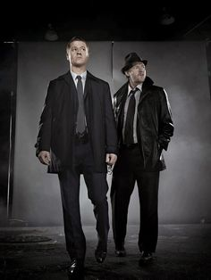 Jim Gordon and Harvey Bullock