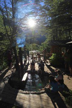 Apres rafting hot tub on the Futaleufu river with Bio Bio Expeditions. Whitewater rafting on the Futaleufu in Northern Patagoniahttp://www.bbxrafting.com/product/futaleufu-rafting-multi-sport
