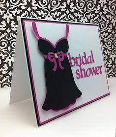 Cricut Bridal Shower project cartridge