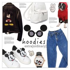"""""""Heads Up! Cute Hoodies"""" by befunky ❤ liked on Polyvore featuring MOA Master of Arts, Philipp Plein, Disney, PèPè, Anya Hindmarch, 7 Chi, Linda Farrow, polyvorecommunity, Hoodies and PolyvoreMostStylish"""