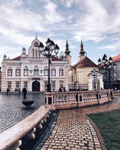 Timișoara 💙 Copyrigh Holiday Destinations, Amazing Destinations, Travel Destinations, Tour Around The World, Around The Worlds, Timisoara Romania, Romania Travel, Seville Spain, Europe