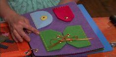 Cathie Filian {Cathie and Steve like to make things.}: Make a Kids Felt Book