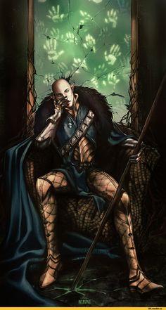 DAI,Dragon Age,фэндомы,Солас,DA персонажи,Nipuni