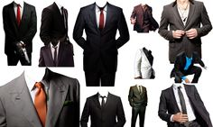 man suit dress psd file