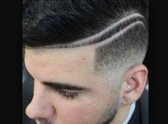 Hair design shave for men