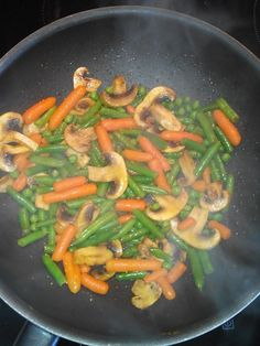 Vegetables and curry