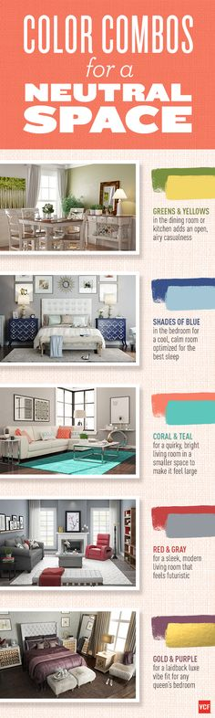 Color is a fundamental element in the creation of a perfect space. The wrong color combination can have disastrous effects! Click-through to shop or read more at www.valuecityfurniture.com/blog