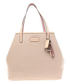 Look what I found on #zulily! Sand Park Metro Saffiano Leather Tote by Coach #zulilyfinds