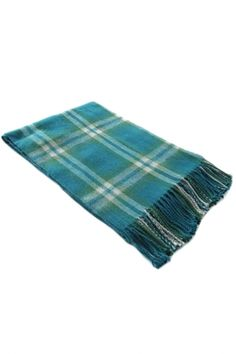 Classic Fringed Scottish Plaid Scarf From The Plus Size Fashion Community At www.VintageAndCurvy.com