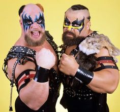 The Powers of Pain - laugh if you must, but I always hoped these guys would stay together, stay heel and battle Demolition (HEEL Demo, not face turn 1989) for the rest of their careers...