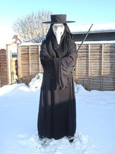 Plague Doctor Pose by LordKrull.deviantart.com on @DeviantArt