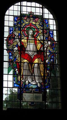 Stained Glass Window - St Marys Church - Threlkeld