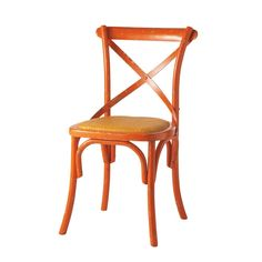 Stuhl orange Tradition
