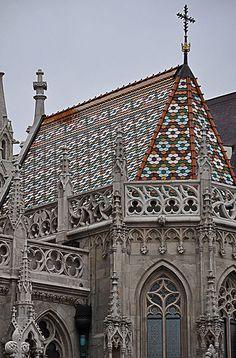 Matthias Church detaile - Budapest, Hungary