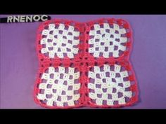 #UNION DE #CUADROS EN LA ULTIMA VUELTA #GANCHILLO #CROCHET - YouTube