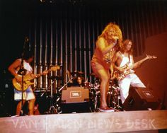 GREAT never-seen photos of Van Halen playing the Cabo Wabo in 1990. Video too!