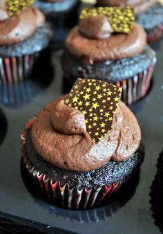 ... chocolate food dark chocolate cupcakes midnight chocolate food