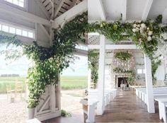 Summer Wedding At Bonnet Island Estate I Do Outside Pinterest Long Beach And
