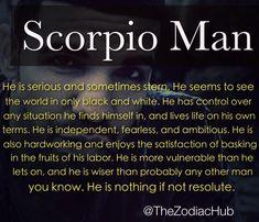 Capricorn woman hookup a scorpio man
