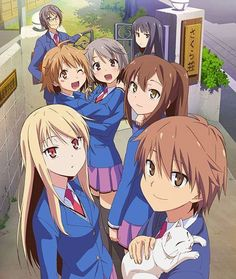 Sakurasou no Pet na Kanojo (The Pet Girl of | http://cutepettwila.blogspot.com